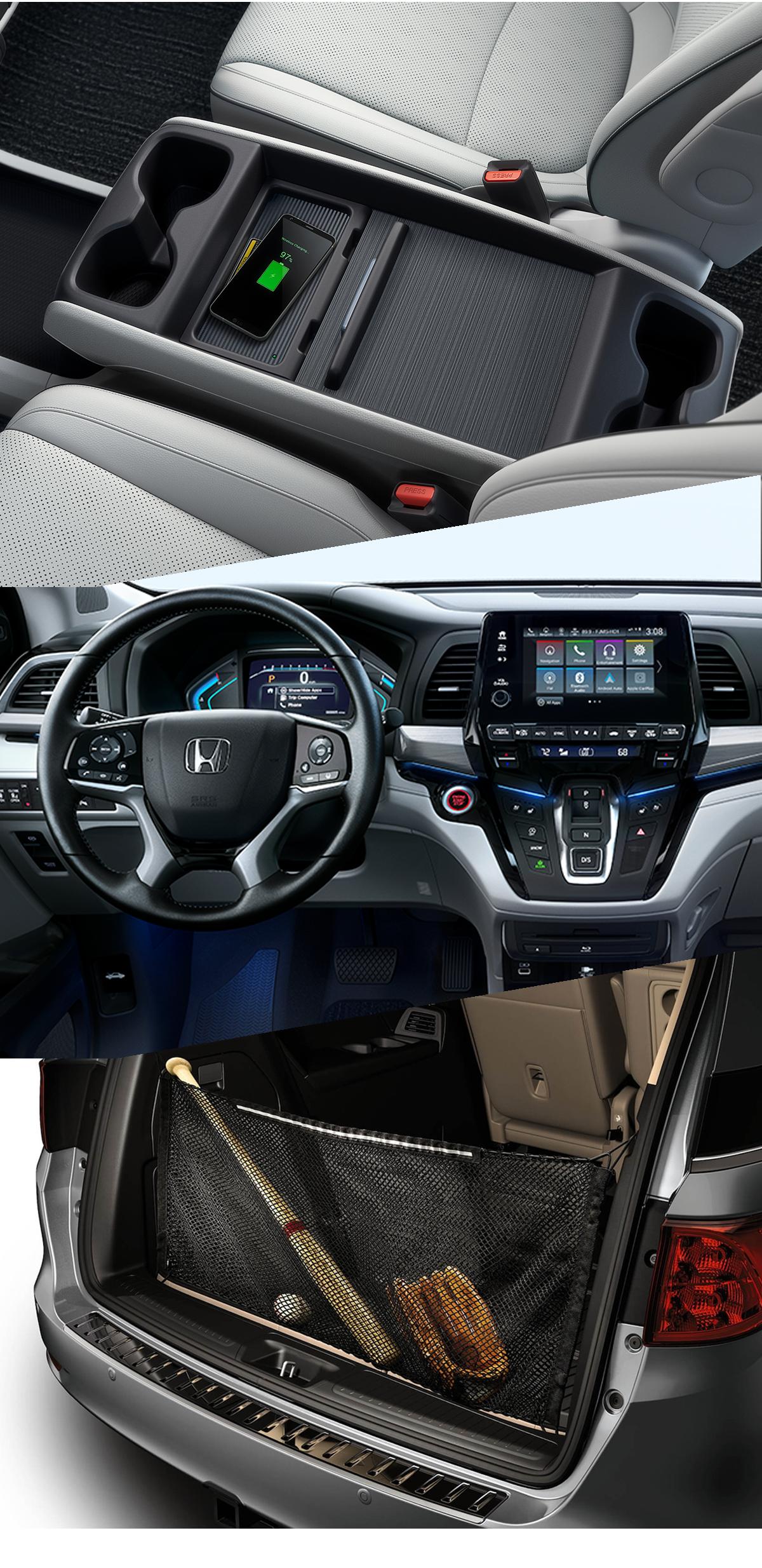 2021 Honda Odyssey Interior Santa Rosa, CA