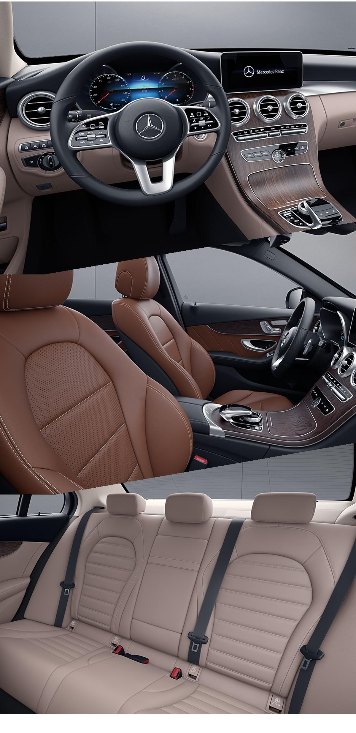 2021 Mercedes-Benz C-Class Interior Images