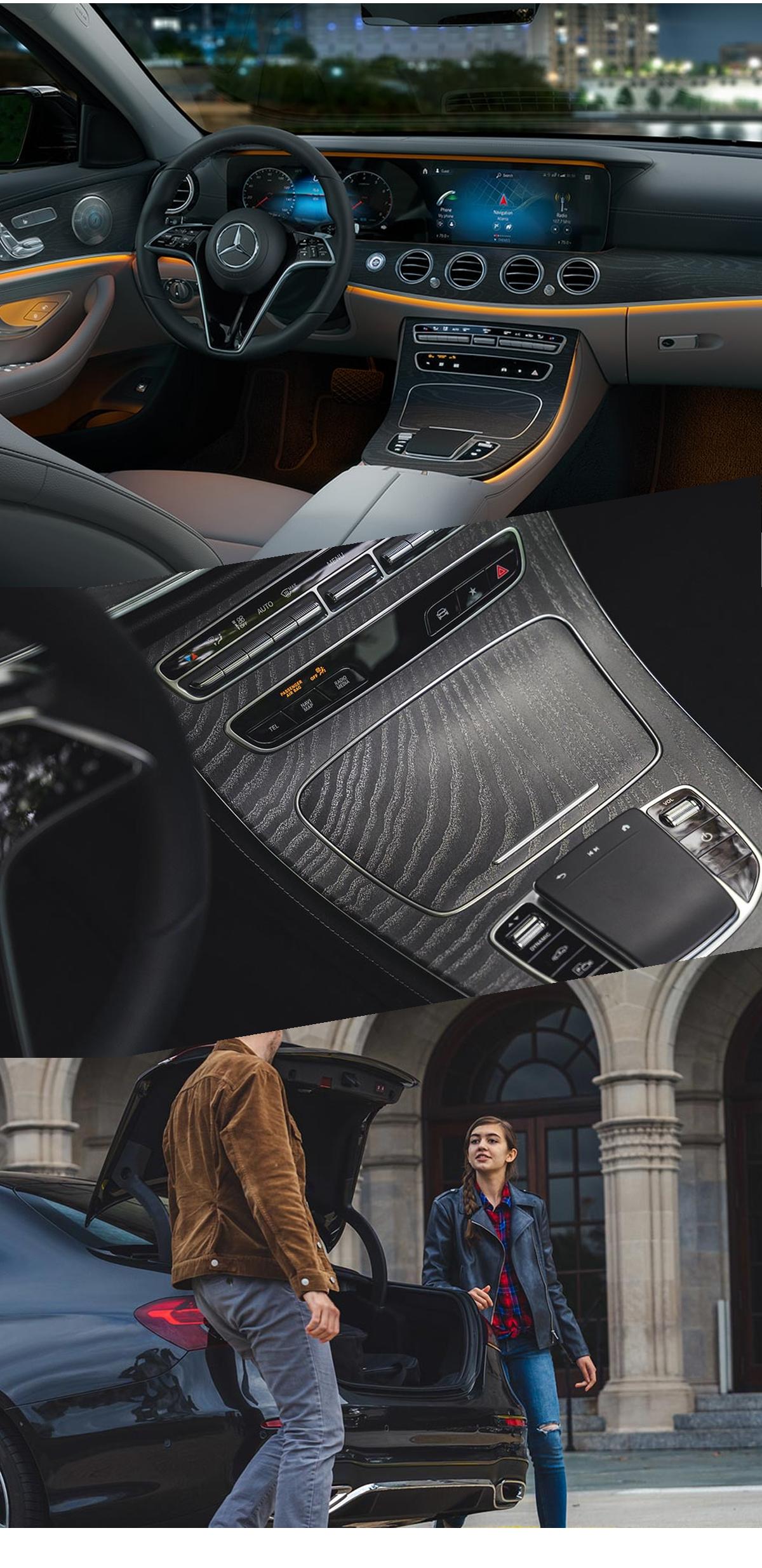 2021 Mercedes-Benz E-Class Interior Images
