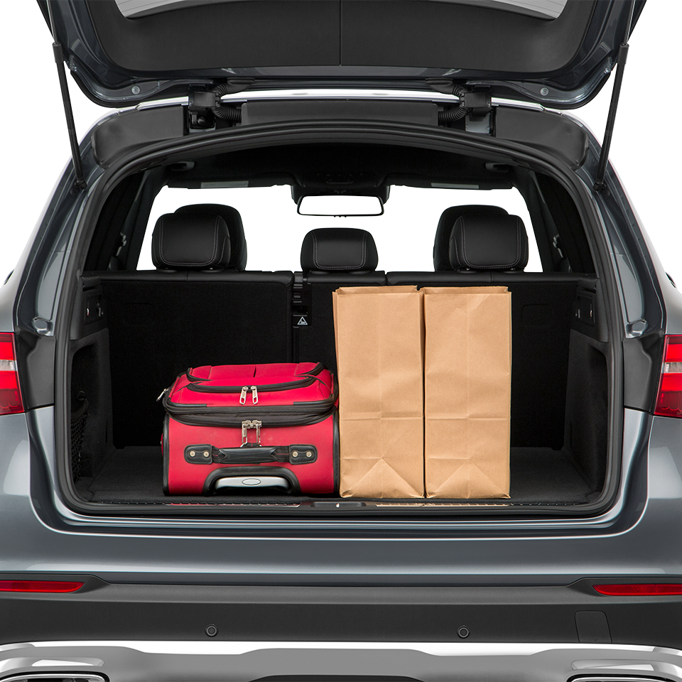 2017 GLC Trunk Space