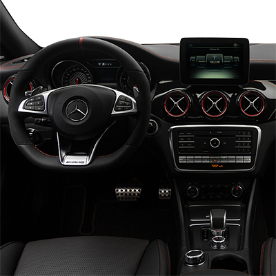 2018 Mercedes-Benz CLA Interior