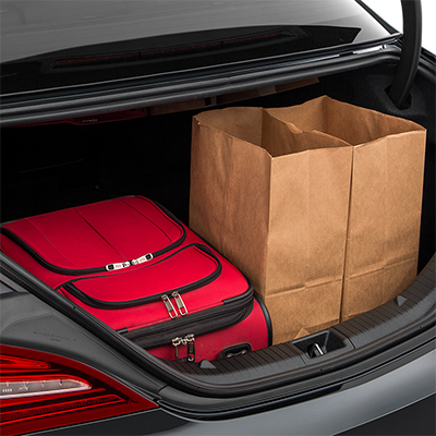 2018 Mercedes-Benz CLA Trunk Space