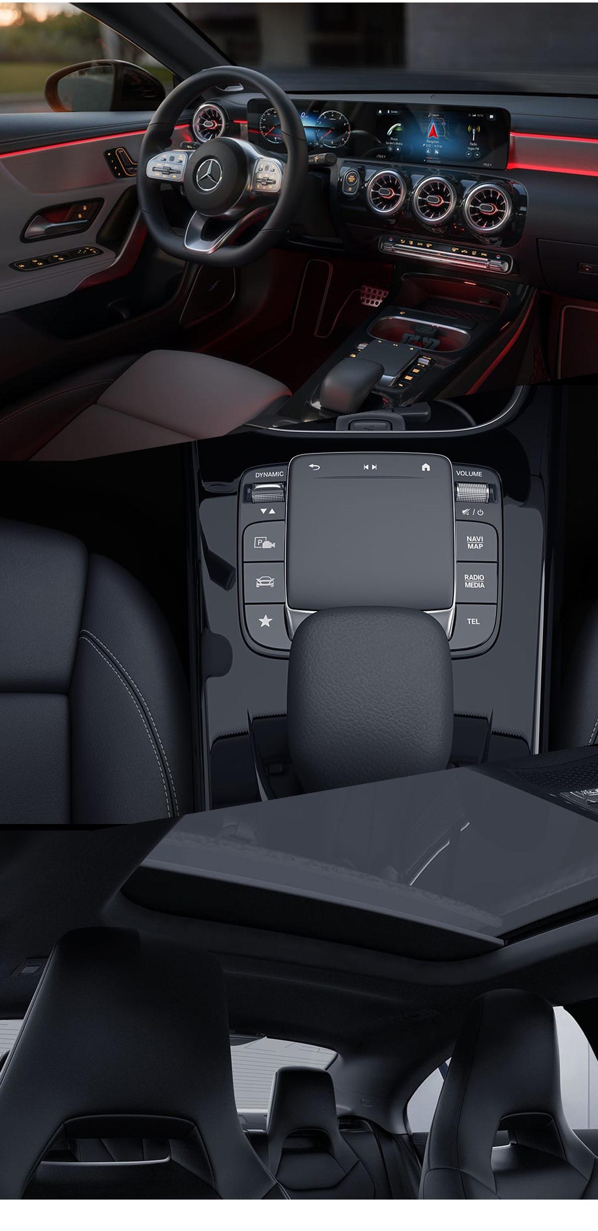 2021 Mercedes-Benz CLA Interior Images