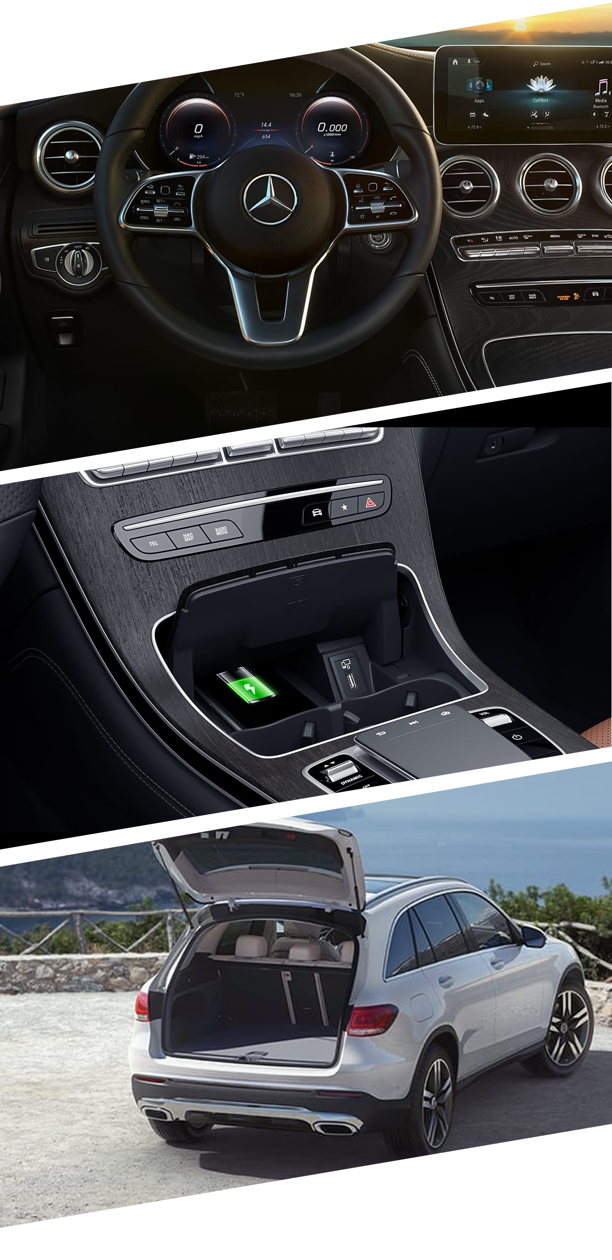 2021 Mercedes-Benz GLC Interior Images