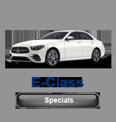 Mercedes E Class Specials