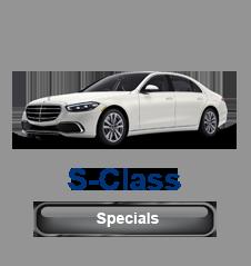 Mercedes S-Class Specials