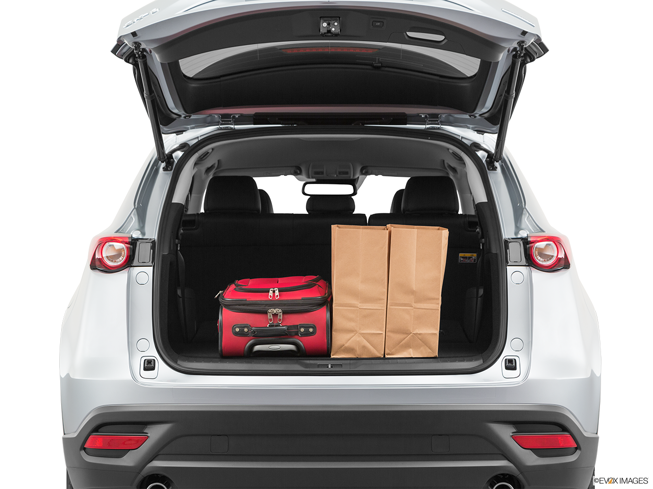 2020 Mazda CX-9 Trunk Space