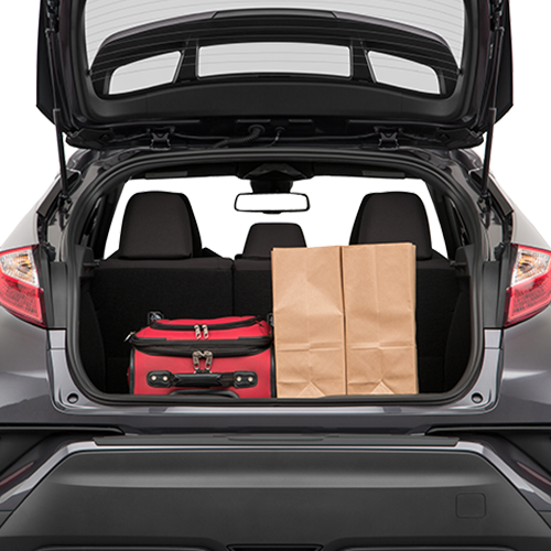 Toyota CH-R Cargo Space