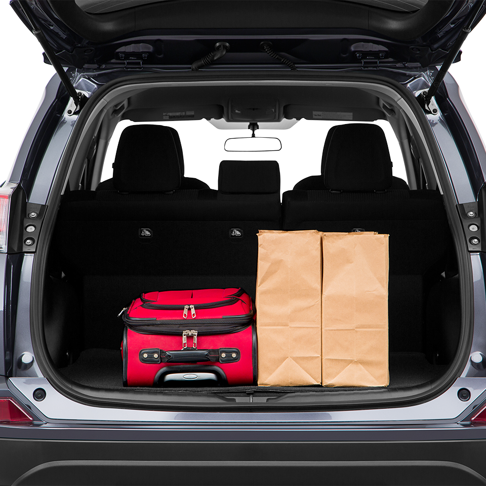 RAV4 Trunk Space