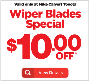 Auto Service Specials At Mike Calvert Toyota Near Bellaire