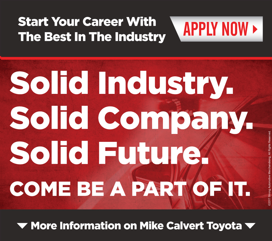 Mike Calvert Toyota - Start a Career with us