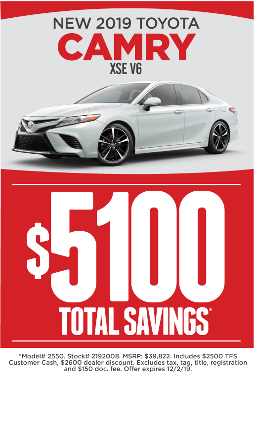 Toyota Camry Specials in Houston, TX | Mike Calvert Toyota
