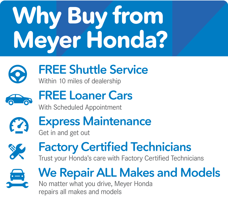 Why Buy From Meyer Honda?