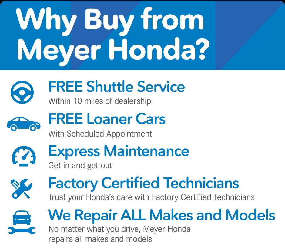 Why Buy From Meyer Honda?