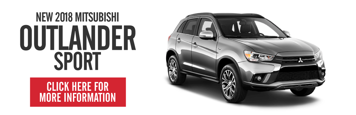 New Mitsubishi Outlander Sport - on sale now. Click here.