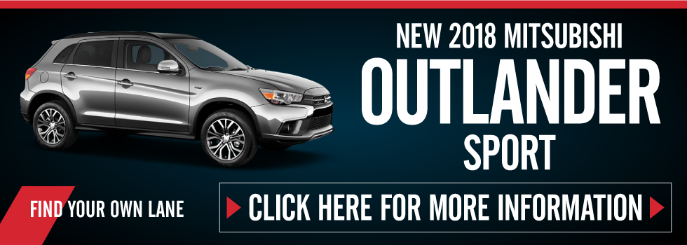 Outlander Sport Special. Click here to take advantage of this offer
