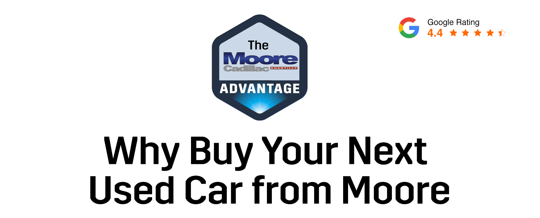 Why Buy Your Next Used Car from Moore