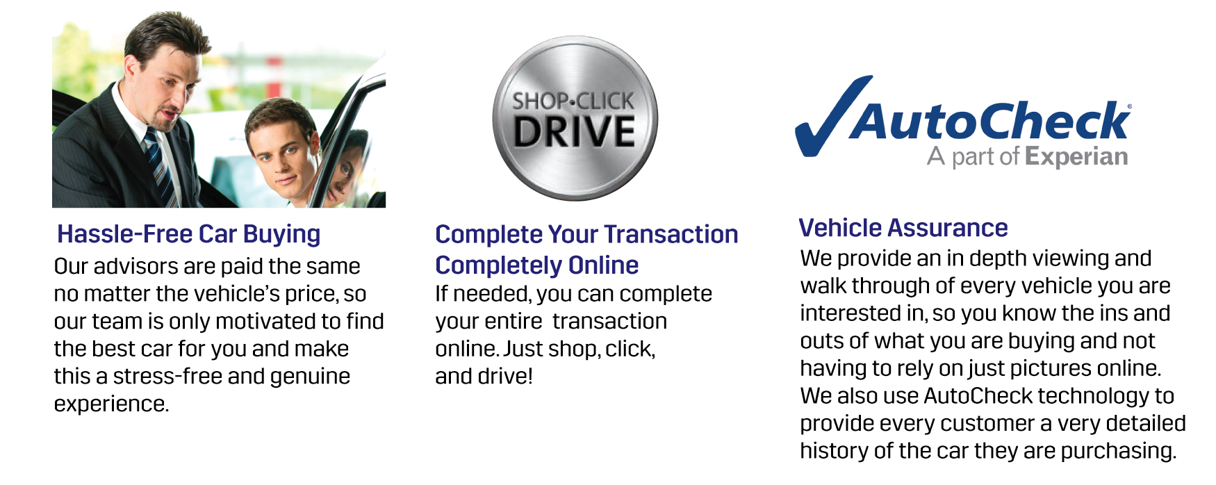 Hassle-Free Car Buying, Complete Your Transaction Online, Vehicle Assurance