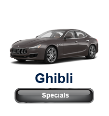Maserati of Tysons Ghibli Specials