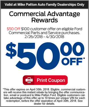 Click Here for Commercial Service Special