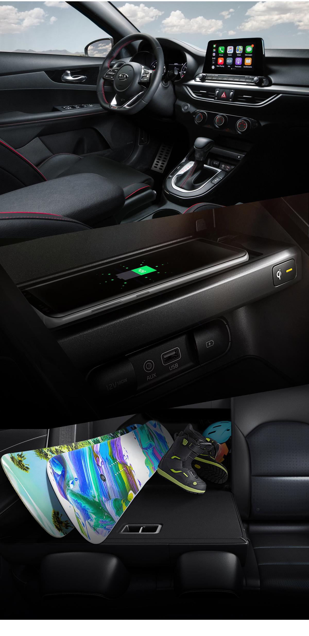 2021 Kia Forte Interior Images
