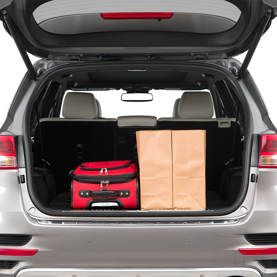 2017 Kia Sorento Trunk Space