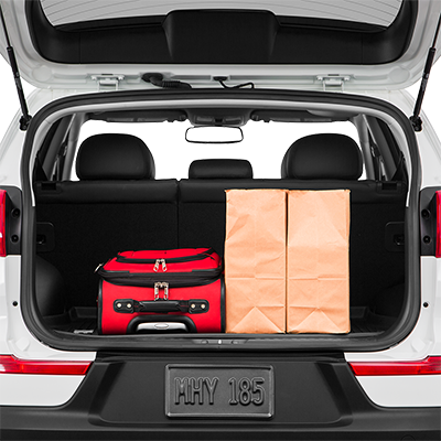 2019 Kia Sportage Trunk Space