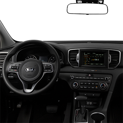 2018 Kia Sportage Center Console