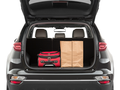 2020 Sportage Trunk space