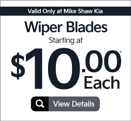 Wiper Blades Starting At $10.00 Each | Click to View Details