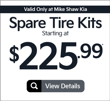 Spare Tire Kits Starting at $255.99 | Click to View Details
