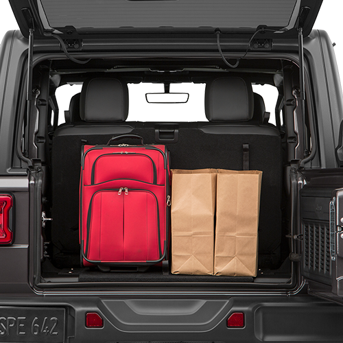 Jeep Wrangler Trunk Space Pell City