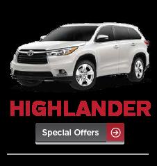 Toyota Highlander Specials Manassas, VA