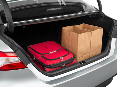 2020 Camry Trunk space