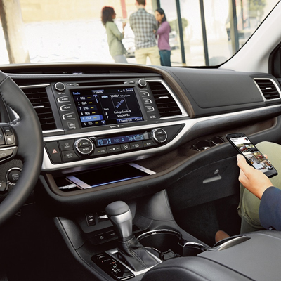 2018 Toyota Highlander Center Console