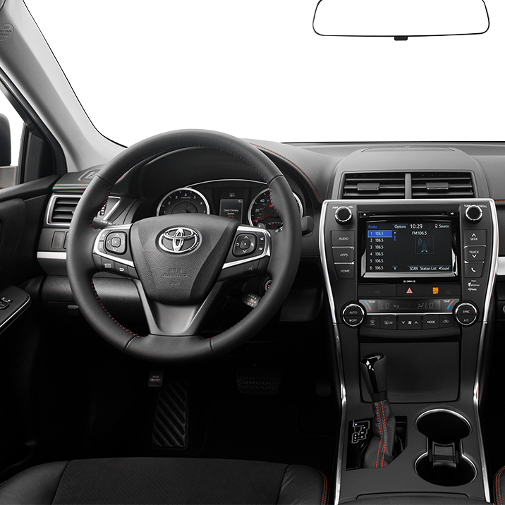 2016 Toyota Camry Center Console