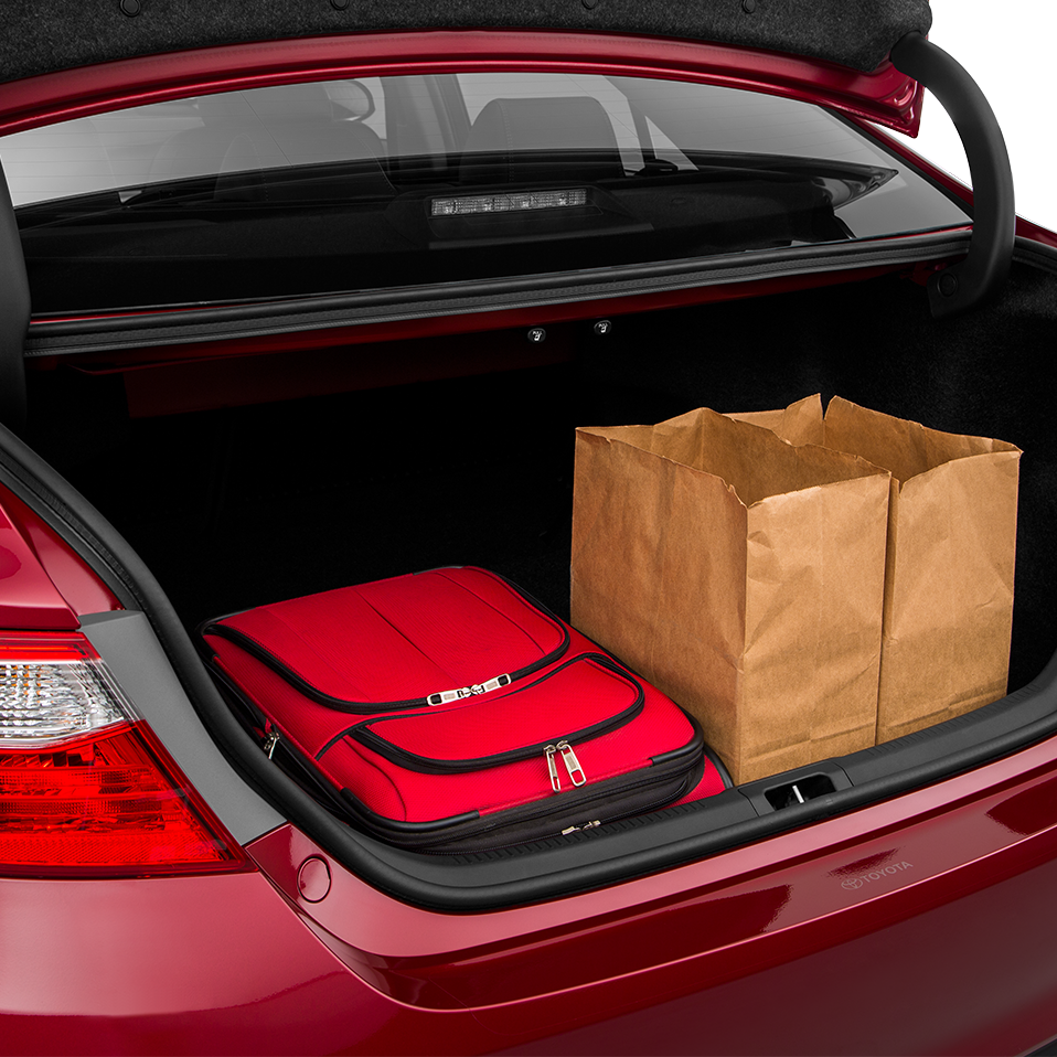 2016 Toyota Camry Cargo Space