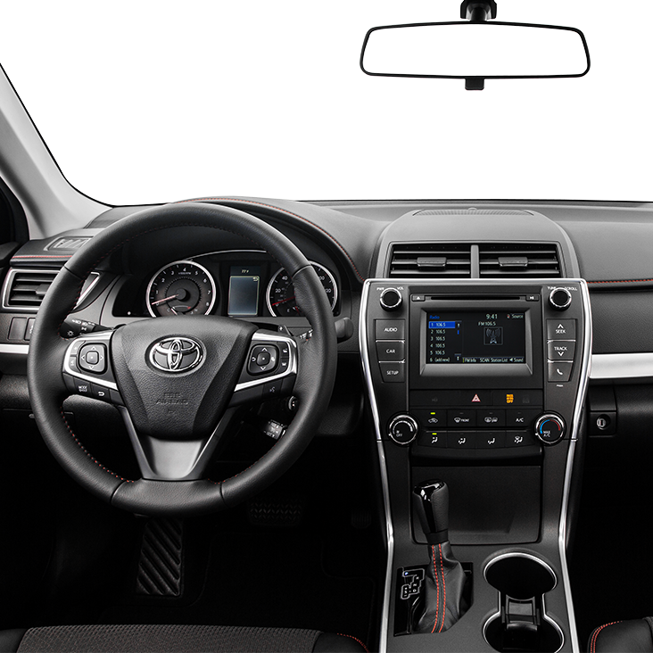 2017 Toyota Camry Center Console