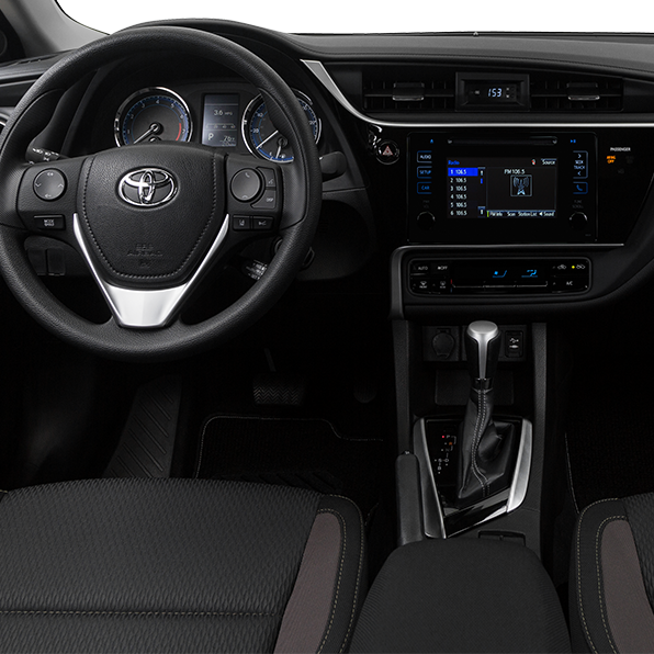 2017 Toyota Corolla Center Console