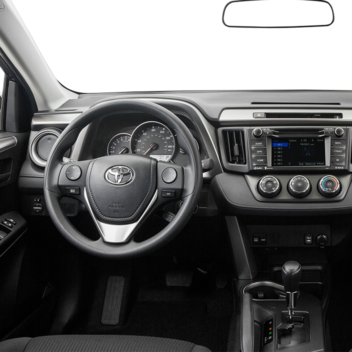 2016 Toyota RAV4 Center Console