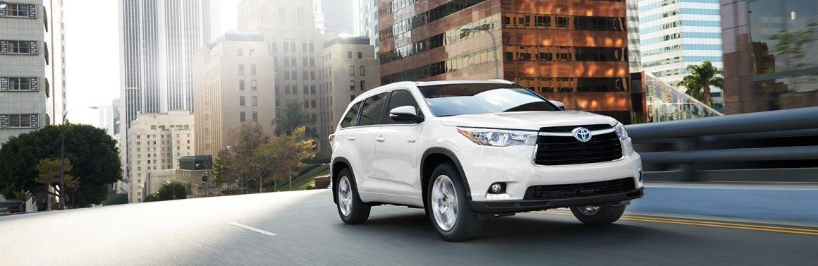 Toyota Highlander Deals In Manassas Va At Miller Toyota