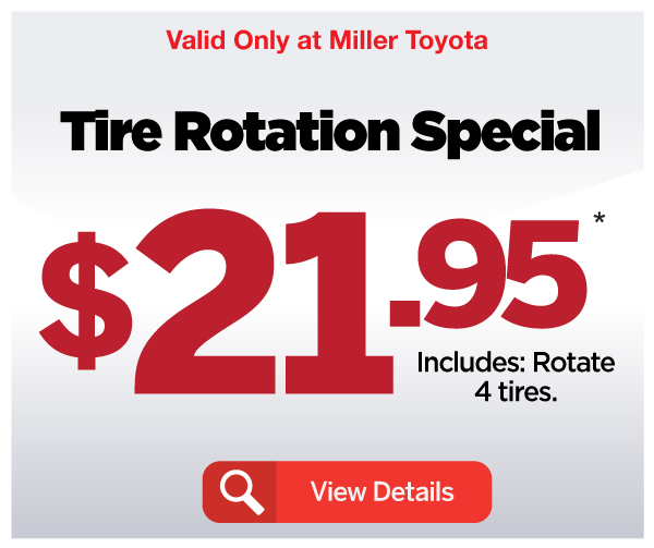 Tire Rotation Special - View Details