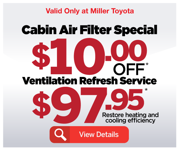 Cabin Air Filter Special and Ventilation Refresh Service - View Details