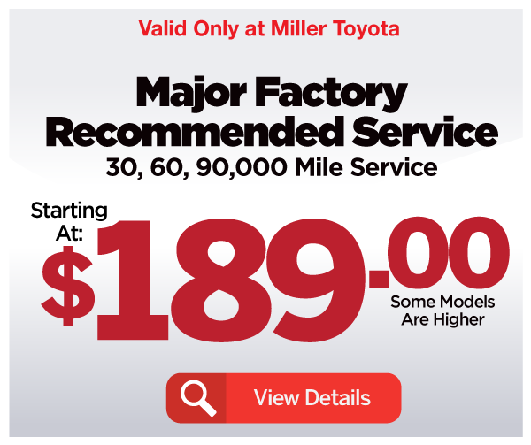 Major Factory Recommended Service - View Details