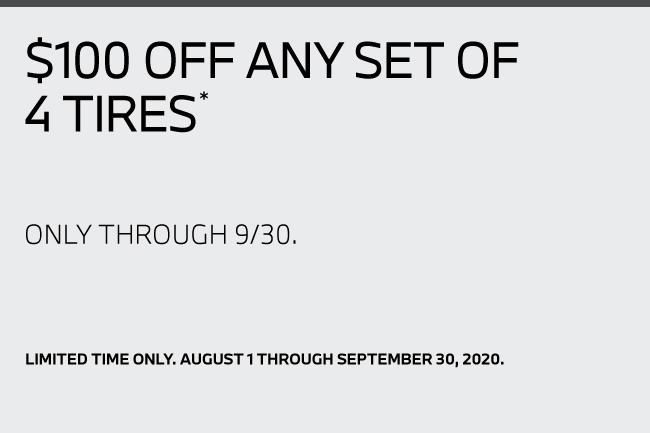 Select cinturato all season tires $100.00 off a set of 4*