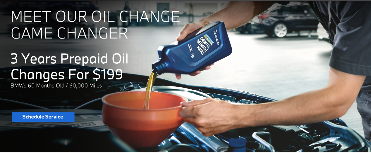 Meet Our Oil Change Game Changer - 3 Years Prepaid Oil Changes for $199 - Schedule Service Now