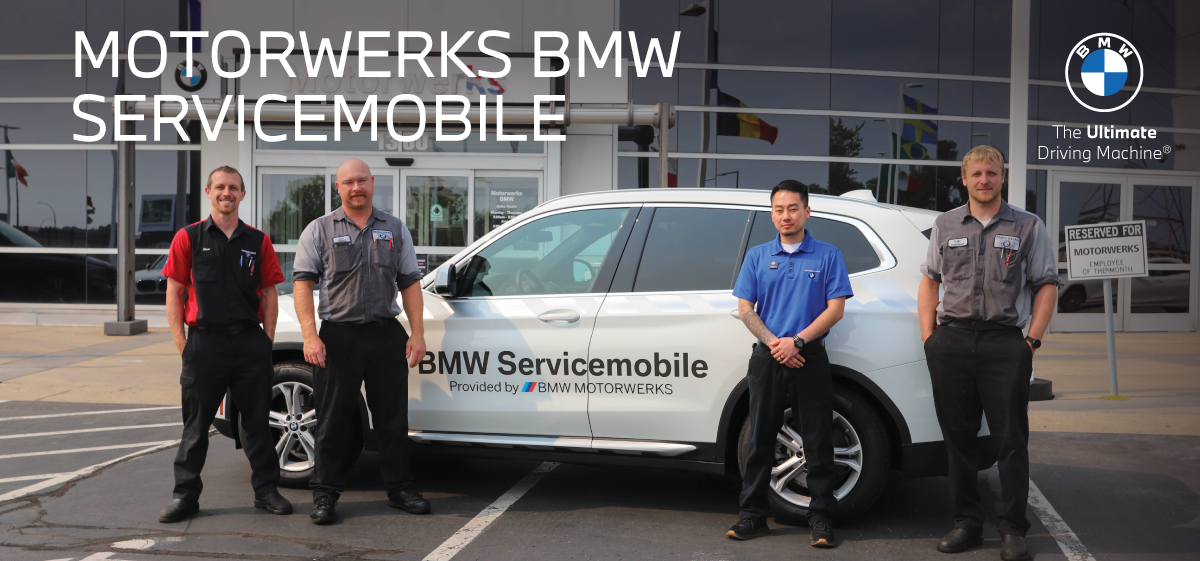 Why Buy from Motorwerks BMW