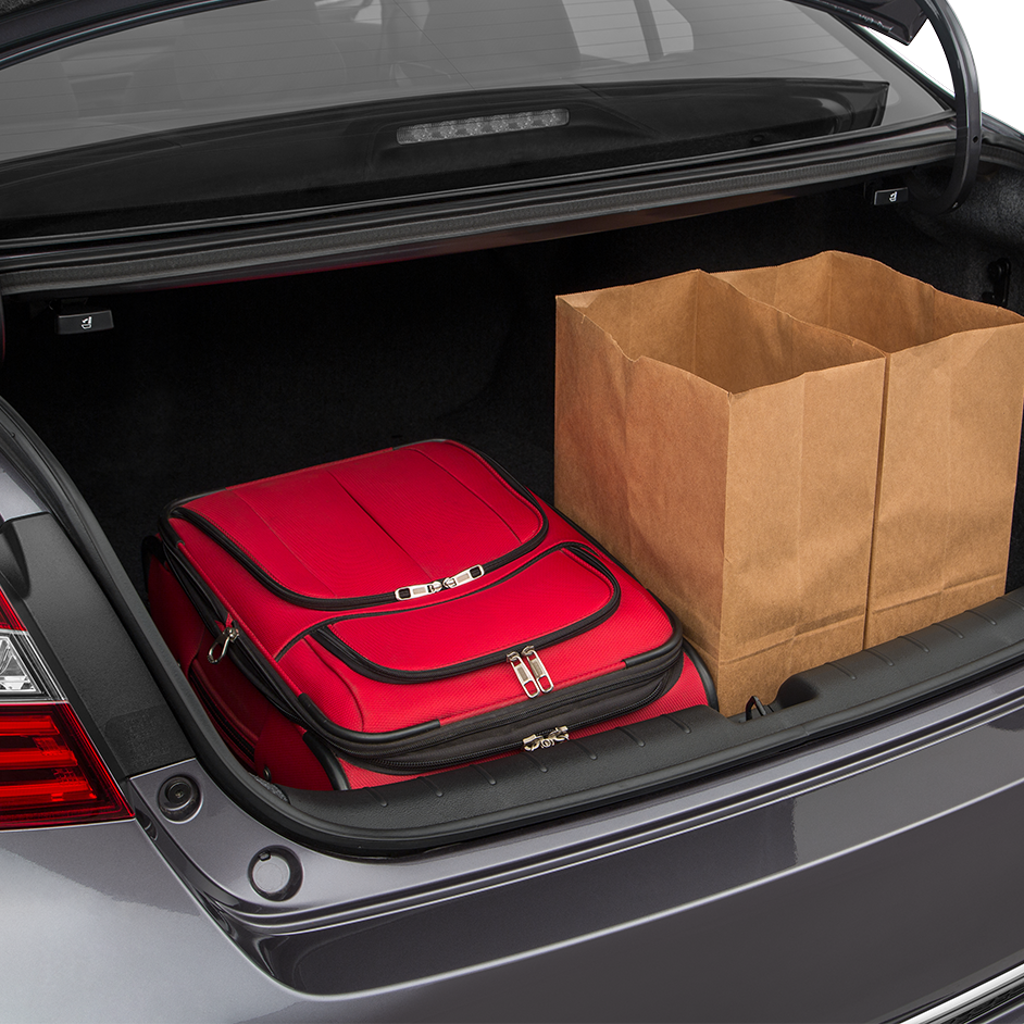 2017 Honda Accord Cargo Space