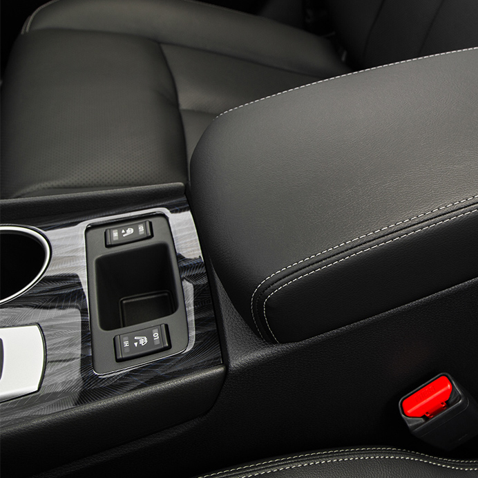 2017 Nissan Altima SL Center Console
