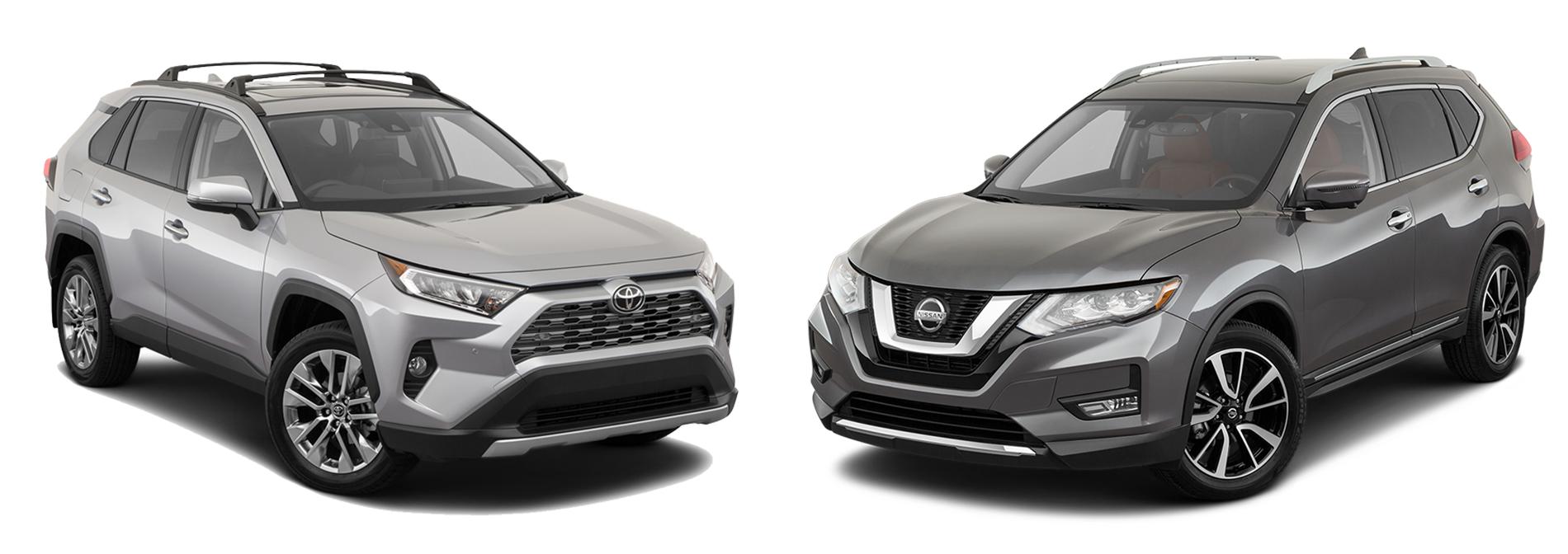 2019 Nissan Rogue vs. 2019 Toyota RAV4 in New Braunfels, TX